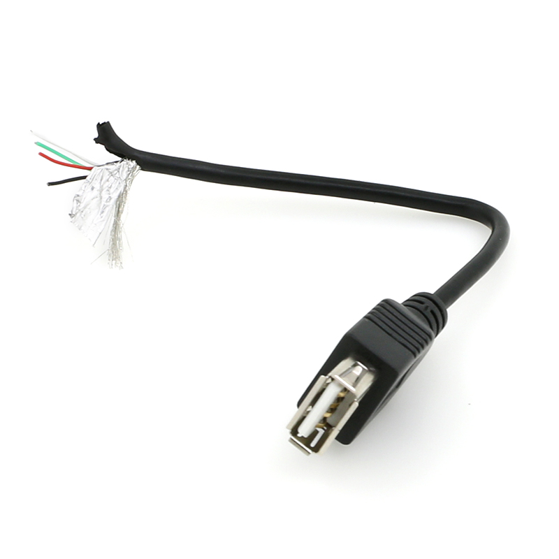 USB A to open cable